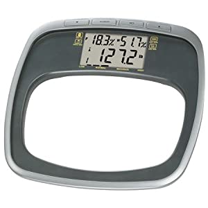 HoMedics SC-565 The Personal Trainer Glass Healthstation, Gray