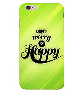 ColourCraft Quotes Back Case Cover for APPLE IPHONE 6S PLUS