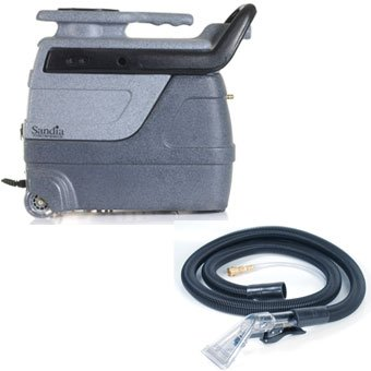 Sandia 50-3000, Super Spot-Xtract 3 Gallon Carpet Extractor with Clear View Plastic Hand Tool