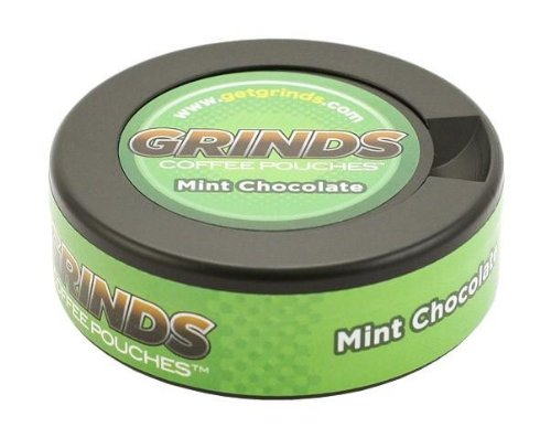 6 Cans Mint Chocolate - Grinds Coffee Pouches