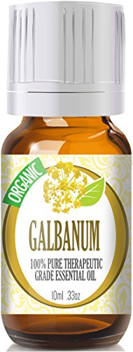 Galbanum (Organic) 100% Pure, Best Therapeutic Grade Essential Oil - 10Ml