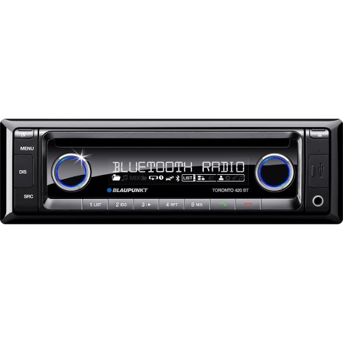 Blaupunkt Toronto 420 Bt World Am/Fm/Mw/Rds Cd Receiver With Ipod/Iphone Direct Control And Built-In Bluetooth
