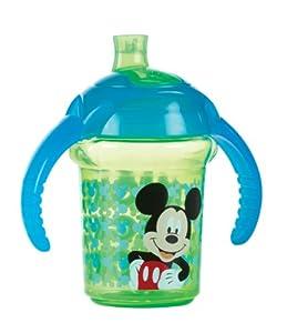 Munchkin Click Lock - Taza de entrenamiento con diseño de Mickey, 7 oz/207 ml, surtido: colores aleatorios - BebeHogar.com
