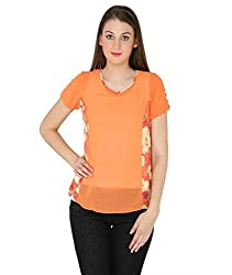 Fashion Tadka West Orange Casual Top For Women
