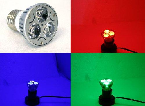 3-Watt Color Led Spot Light Bulb - Blue