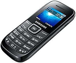 "Samsung GT-E1200 - Teléfono móvil (3.86 cm (1.52""), 128 x 128 Pixeles, TFT,  32 MB, GSM) Negro"