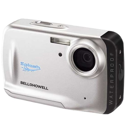 Bell and Howell WP5-S Splash 12MP Waterproof Digital Camera with 2 GB Memory Card (Silver)