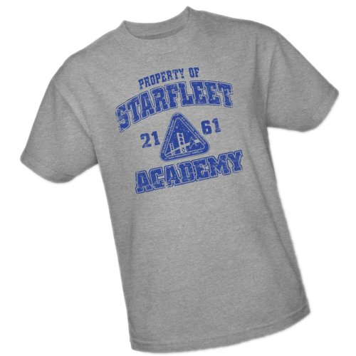 Star Trek  - Athletic Logo - Starfleet Academy T-Shirt