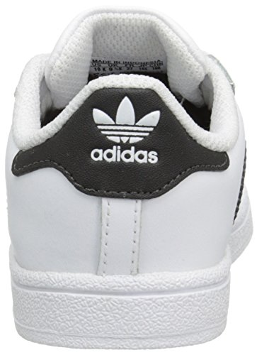 adidas Originals Superstar I Basketball Shoe (Infant/Toddler) adidas x pharrell little kids superstar supercolor