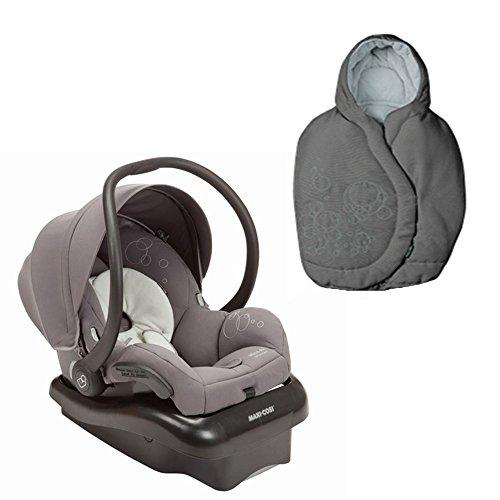 Maxi Cosi Mico Ap Infant Car Seat With Matching Footmuff (Gracious Grey) front-854869