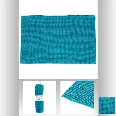 alfombra-chenille-corto-turquesa