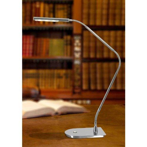 Kenroy Home 32174CH Bently LED Desk Lamp