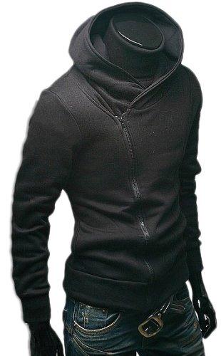 BUZZ[バズ]ライダースパーカー メンズ ライダースジャケット スウェット トレーナー パーカー