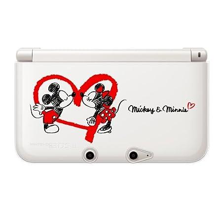 【3DS LL用】任天堂公式ライセンス商品 ディズニーキャラクター TPUカバー for ニンテンドー3DS LL ミッキー&ミニー(ハート)