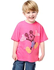 Pure Cotton Mickey Mouse T-Shirt