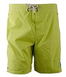 Polo Ralph Lauren Sanibel Mallets Swim Trunks, New Lemon (Large)