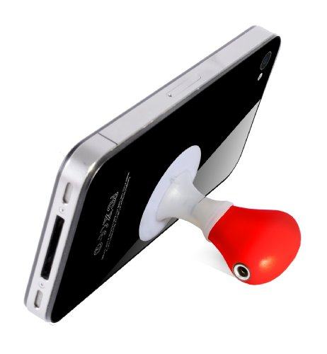 Thumbs Up Uk Audio Splitter Stand - Retail Packaging - White/Red