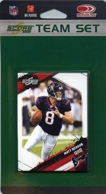 NFL Houston Texans Licensed 2009 Score Team Set