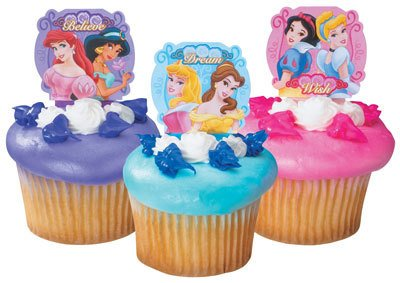 Buy Disney Princess cupcake picks