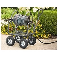 "Big Sale Hose Reel Cart Capable of holding up to 300 ft. of 5/8"" garden hose"