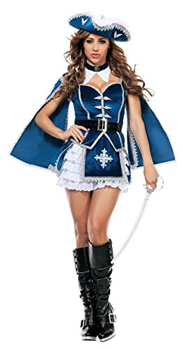 Starline Women's All For You Musketeer Sexy Costume Set