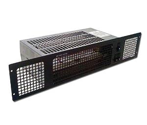 Diamond Central Heating Kitchen Plinth Heater Black Grill