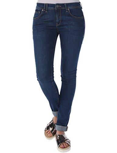 Bench - Jeans Frequency V4, Mutande Donna, Blu (Midworn), W25/30 (Taglia Produttore: 25/30)
