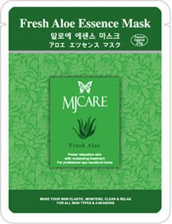 韓国ミジン アロエエッセンスマスク 顔用シートマスクパック