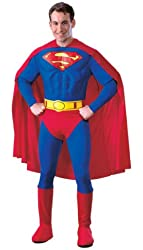 DC Comics Deluxe Muscle Chest Superman Costume
