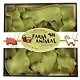 41ba3hhypIL. SL160  Fox Run Farm Animal Cookie Cutter Set