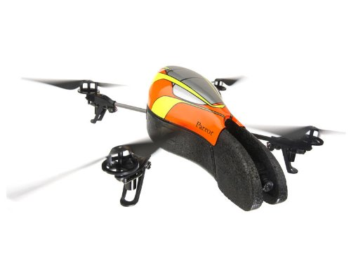 AR. Drone with Outdoor Hull (Orange/ Yellow)