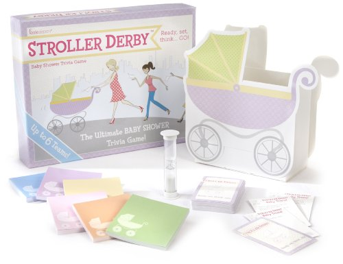 Kate Aspen Stroller Derby Baby Shower Trivia Game