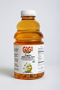 GoGo Juice: Peeled, Organic Pear Juice (6 - 32oz PK)