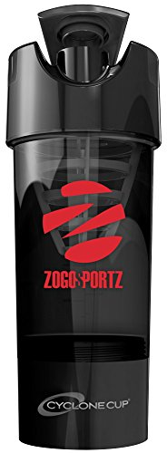 ZogoSportz Cyclone Cup Stealth Black - Red Logo 1 - 20oz. Cup