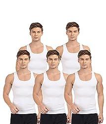 BLIVE Men's Vest Pack of 5 (Large)
