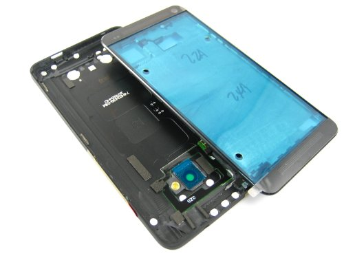 For New Htc One / 801E / M7 Black ~ Full Cover Housing ~ Mobile Phone Repair Part Replacement
