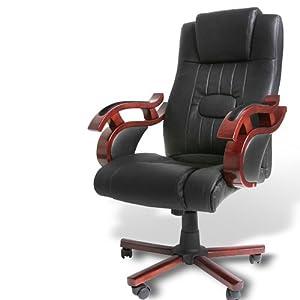 Miadomodo bds07 p sedia ufficio in similpelle for Sedia da ufficio amazon
