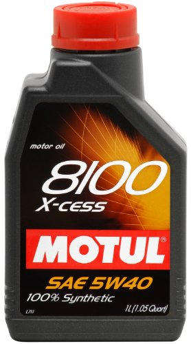 motul-007236-8100-x-cess-5w-40-100-percent-synthetic-gasoline-and-diesel-engine-oil-1-liter-bottle