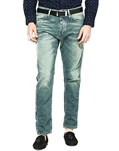 JACK & JONES -  Jeans  - Uomo verde Grün - Medium Blue/Green