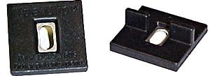 Ipe Clip ICEX-SBL   Extreme Short Black Hidden Deck Fasteners 175-Piece kit