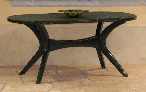 steiner lyon gartentisch boulevardtisch oval 150 x 90cm. Black Bedroom Furniture Sets. Home Design Ideas