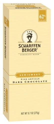 Scharffen Berger Baking Bar, Semisweet Dark Chocolate