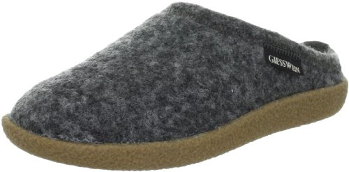 Giesswein Veitsch 52-10-47848, Pantofole unisex adulto, Grigio (Grau (anthrazit 29)), 38