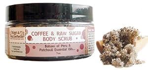 Biggs & Featherbelle Body Scrub, Coffee and Raw Sugar, 7 Ounce