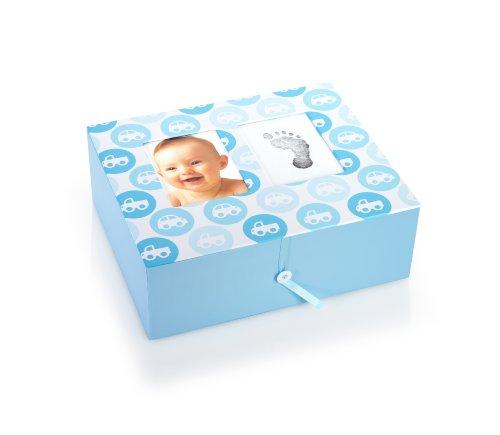 36103 Nursery Collection Keepsake Box, Aufbewahrungsbox für bleibende Erinnerungen, blau