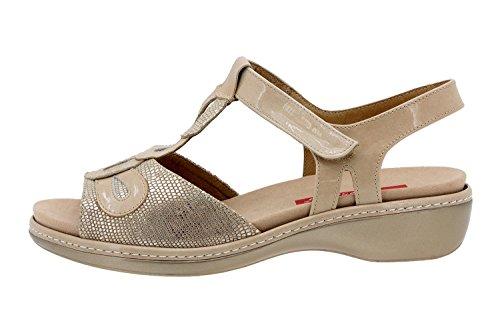 Scarpe donna comfort pelle Piesanto 8820 sandali soletta estraibile comfort larghezza speciale