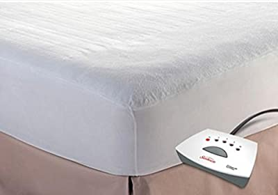 Sunbeam Heated Mattress Pad - Non-woven top - 5 Heat Settings with 10 Hour Auto-Off