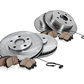 OE Series Rotors + Metallic Pads TA023141 Max Brakes Front Premium Brake Kit Fits: 1999 99 2000 00 2001 01 2002 02 2003 03 Audi A4