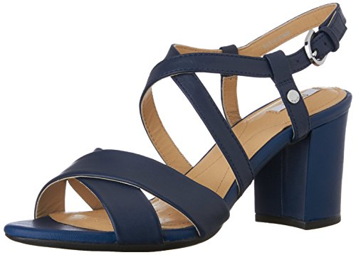 GeoxD Nesa C - Sandali Donna , blu (Bleu (C4072)), 38 EU