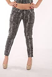 Lip Service Rockers Ladies Python Addiction Skinny Jeans